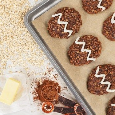 Image of No-Bake Oatmeal Easter Cookies